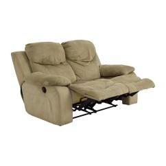 Bobs Furniture Sofa Recliner Canape Et Poltron 75 Off Bob 39s Grey Dual