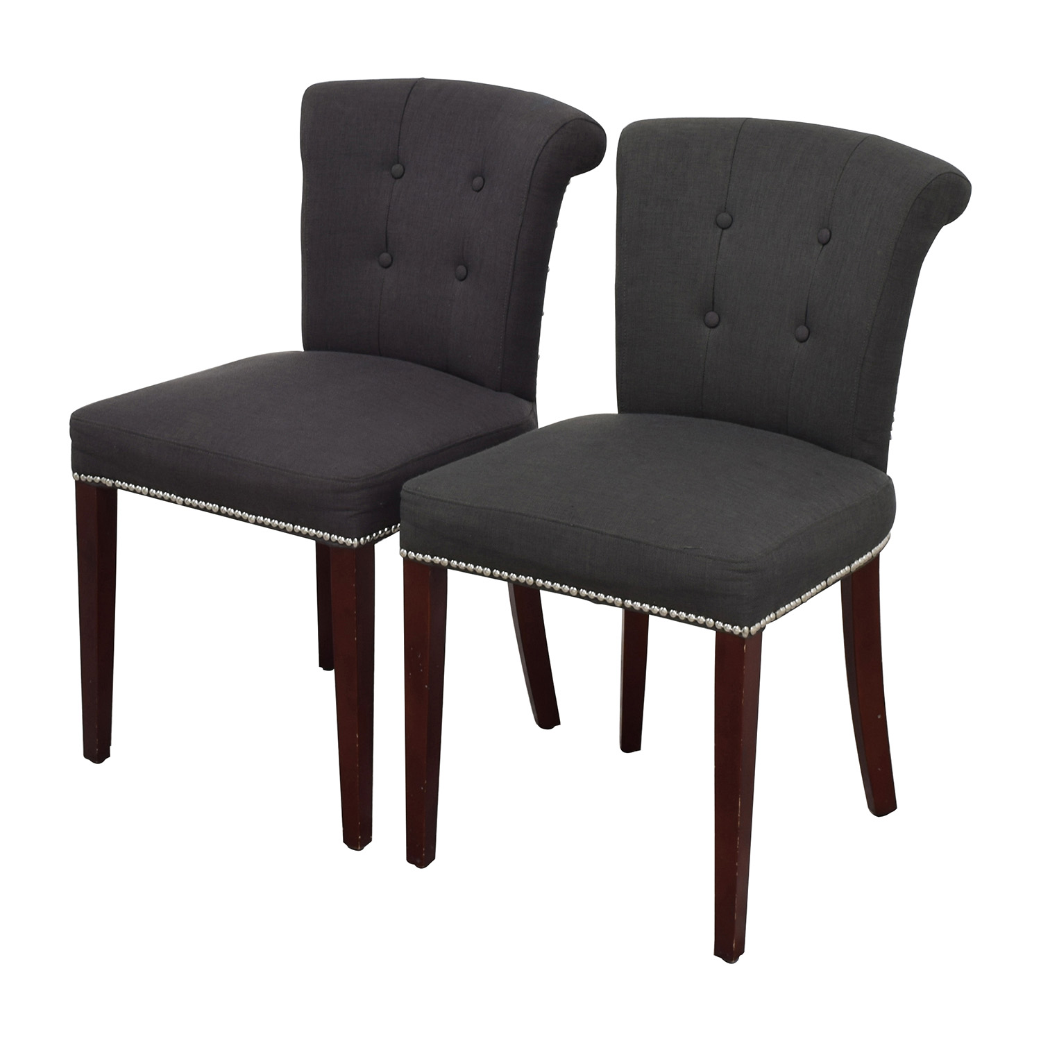 safavieh sinclair ring side chair high dining room chairs 90 off en vogue charcoal
