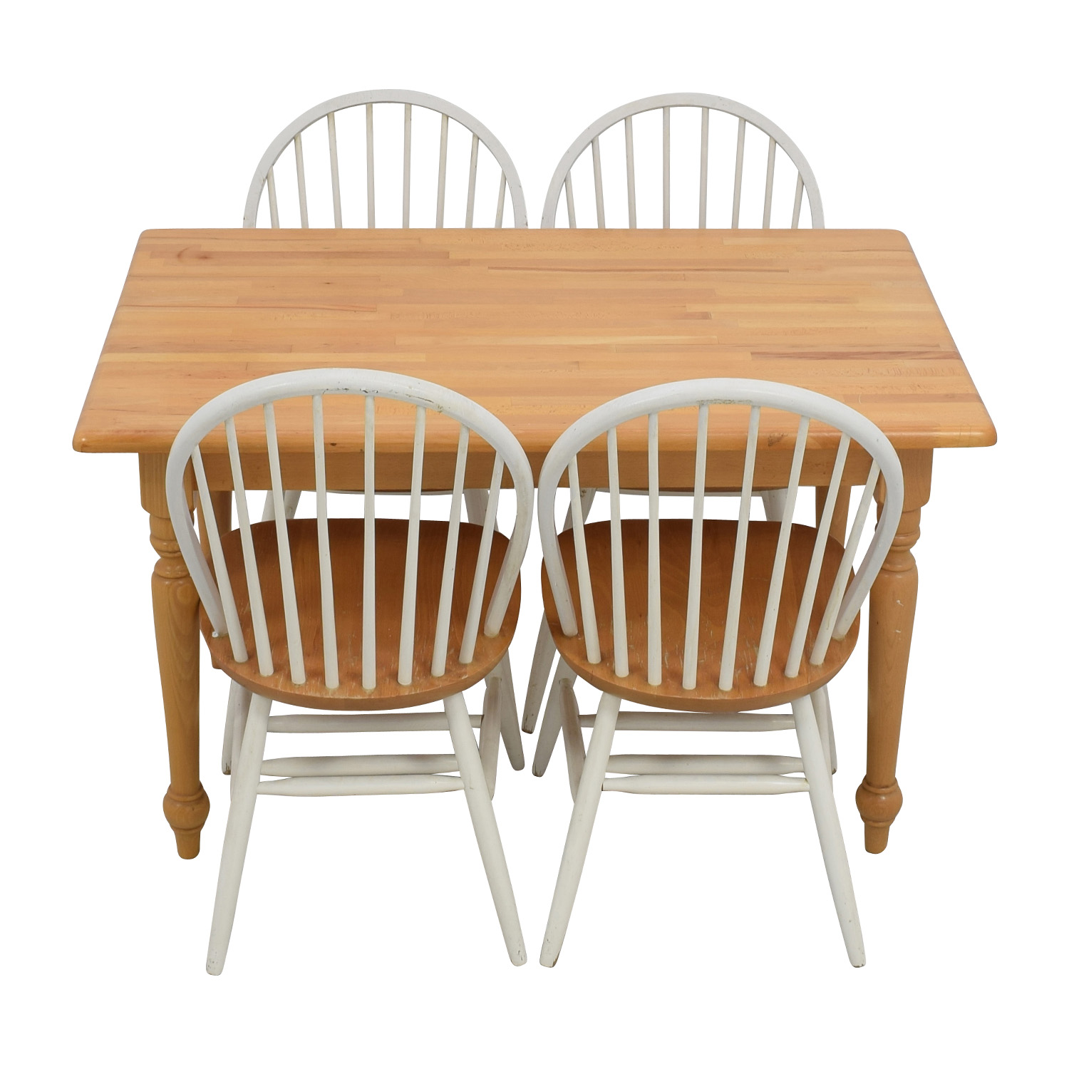kitchen table with 4 chairs countertops lowes dining sets used for sale