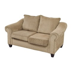 Bobs Furniture Sofa Recliner Average Cost Of Sleeper 84 Off Bob 39s Two Toned Brown
