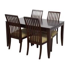 Macys Dining Chairs Skovby 45 Off Macy 39s Metropolitan Wood Extendable