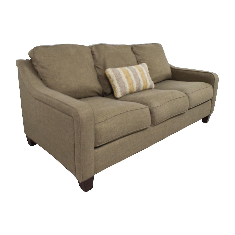 brown accent pillows sofa corner bed gumtree london 55 off jennifer furniture