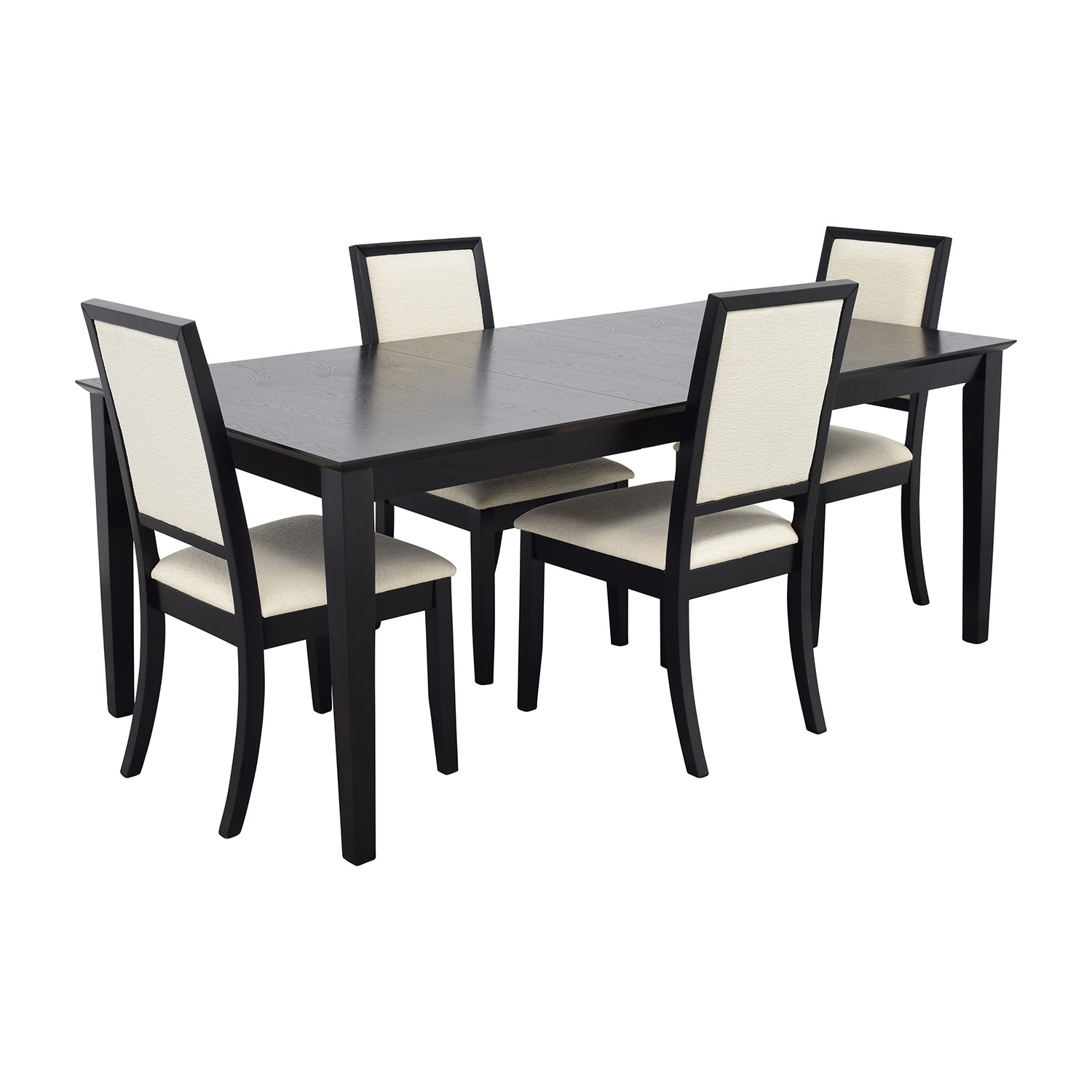 Used Table And Chairs 72 Off Harlem Furniture Harlem Furniture Black Dining