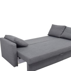 Sofa Chair Ikea Massage Relief 32 Off Friheten Grey Sleeper Sofas