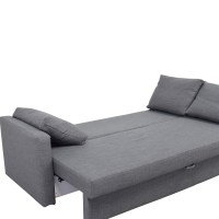 32% OFF - IKEA IKEA FRIHETEN Grey Sleeper sofa / Sofas