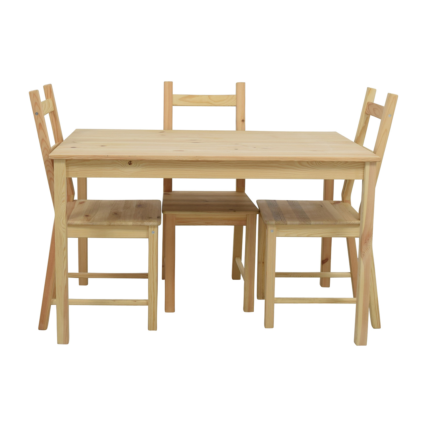 pine kitchen chairs for sale best stadium chair ikea table image to u