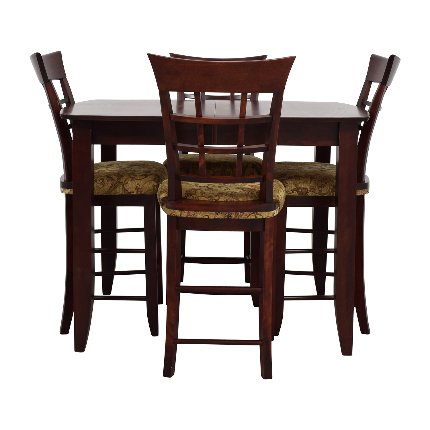 High Top Table And Chairs 90 Off Skovby Skovby Sm 24 Dining Table With Butterfly