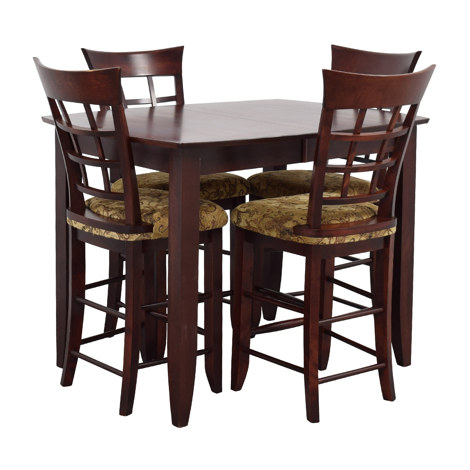 High Top Chairs 48 Off High Top Dining Table With Four Chairs Tables