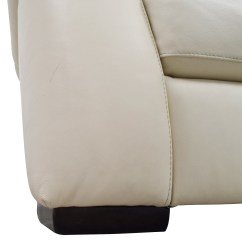 Secondhand Leather Sofas Classic White Sofa 69% Off - Three-cushion /
