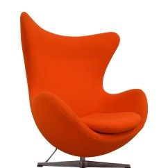 Orange Egg Chair Barber Chairs For Sale Ebay 66 Off Inmod Jacobsen Nj