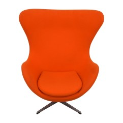Orange Egg Chair Double Stand 66 Off Inmod Jacobsen Chairs