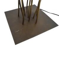 82% OFF - Metal Twig Floor Lamp / Decor