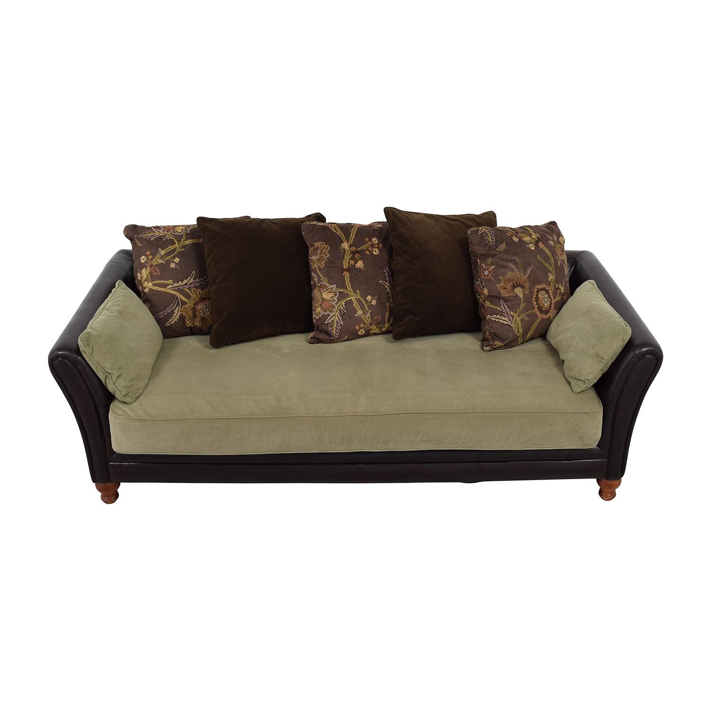 feather filled sofas second hand rolf benz sofa gebraucht verkaufen 79 off restoration hardware