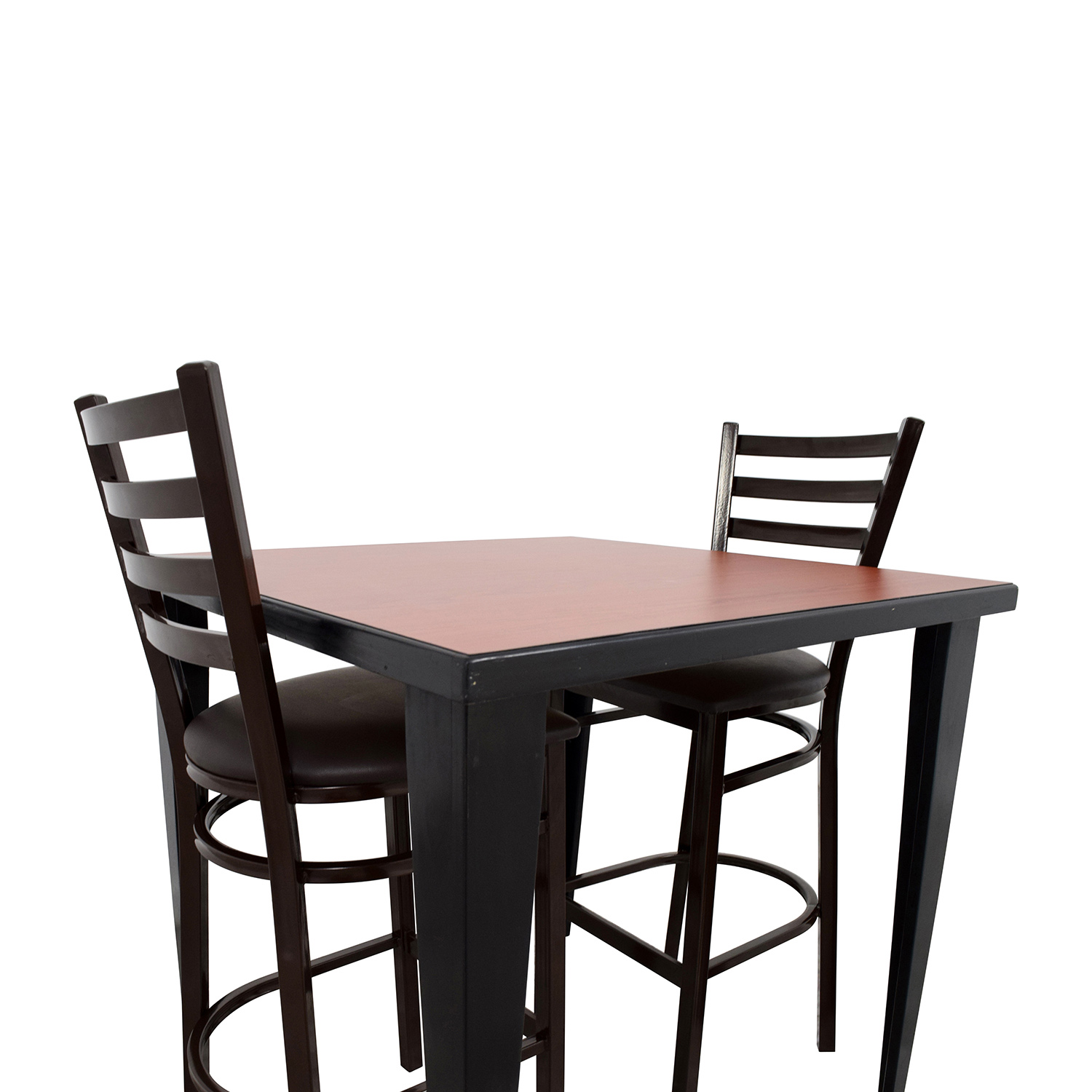 76 OFF  Counter Height Kitchen Table and Two Chairs  Tables