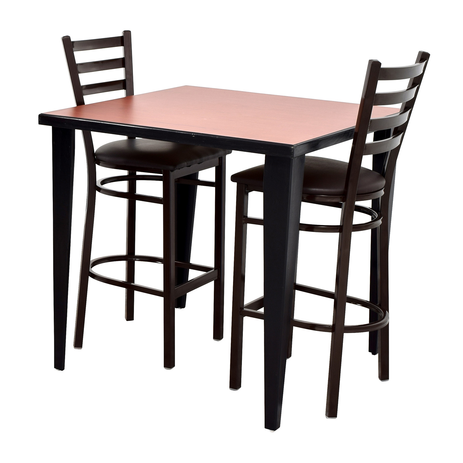 used kitchen chairs best office chair for neck pain 76 off counter height table and two tables