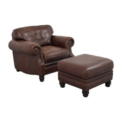 Accent Chairs To Go With Brown Leather Sofa Horchow 75 Off Studded Armchair Matching