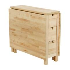 Ikea Kitchen Table With Drawers Island Countertop Ideas 49 Off Birch Norden Gateleg Drop Leaf