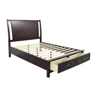 55% OFF - Bob's Furniture Bob's Furniture Wooden Queen ...