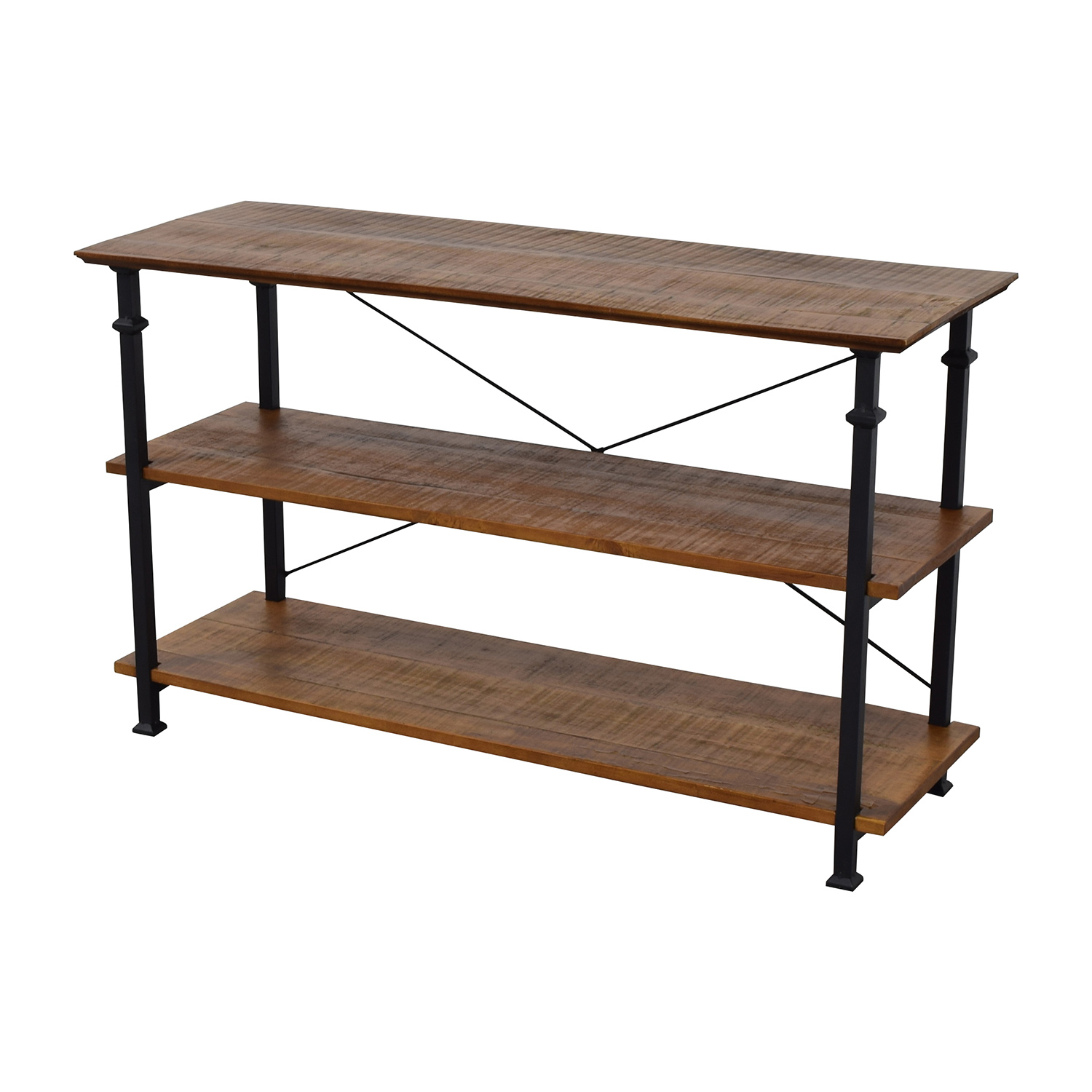 chair stand unit bubble on 47 off wayfair rustic wood and metal bookcase