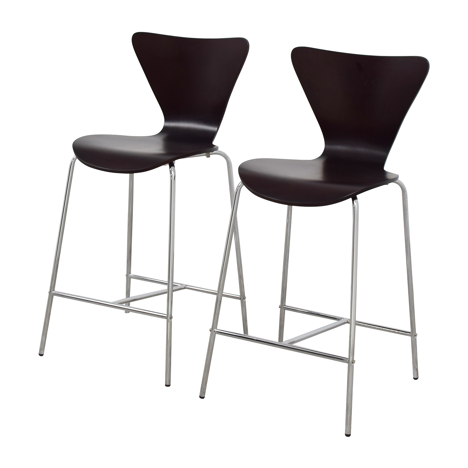 stool chair second hand chicco high chairs uk 70 off inmod tendy c counter wenge