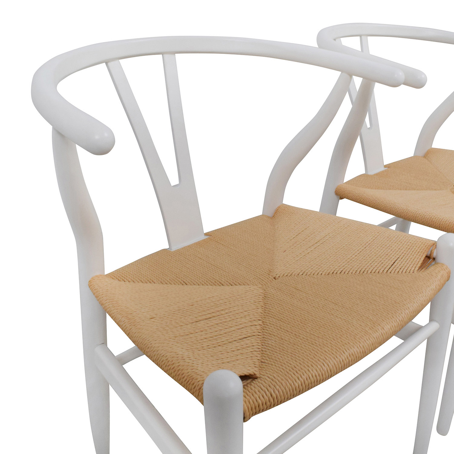 Wishbone Chairs White Wishbone Chair