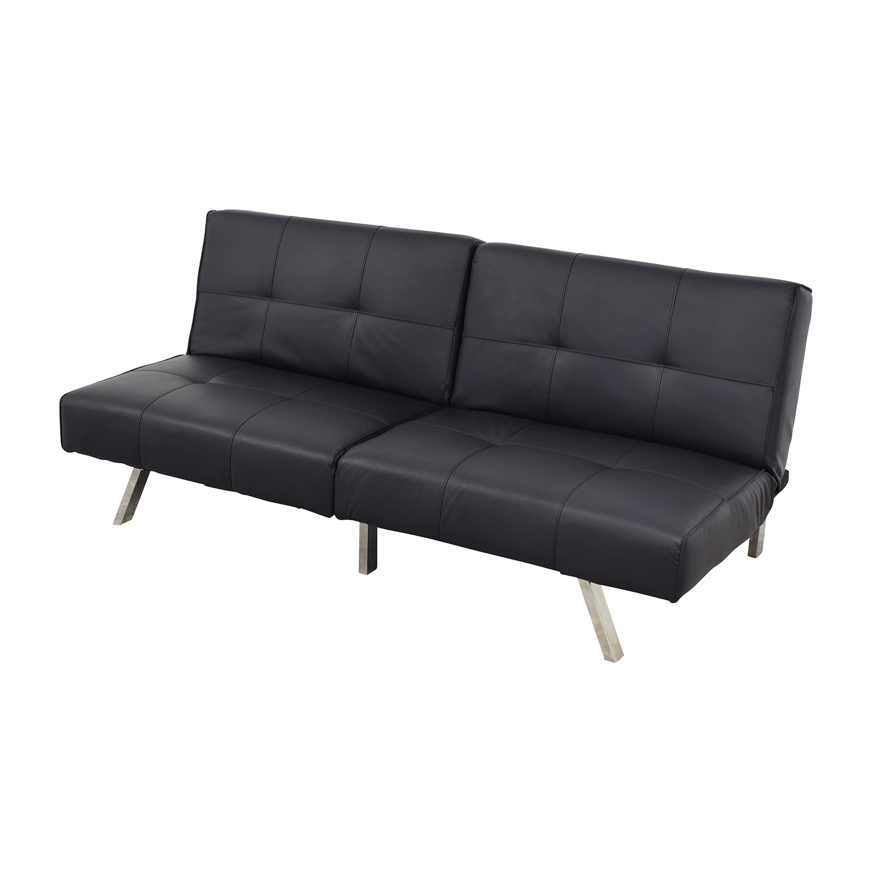 sleeper sofa black bernhardt cantor leather 47 off jacksonville futon