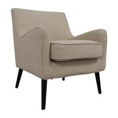 Reading Nook Chair Modern Recliner Chairs 62 Off West Elm Beige Book