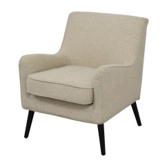 Reading Nook Chair Car Seat Office Chairs Uk 62 Off West Elm Beige Book