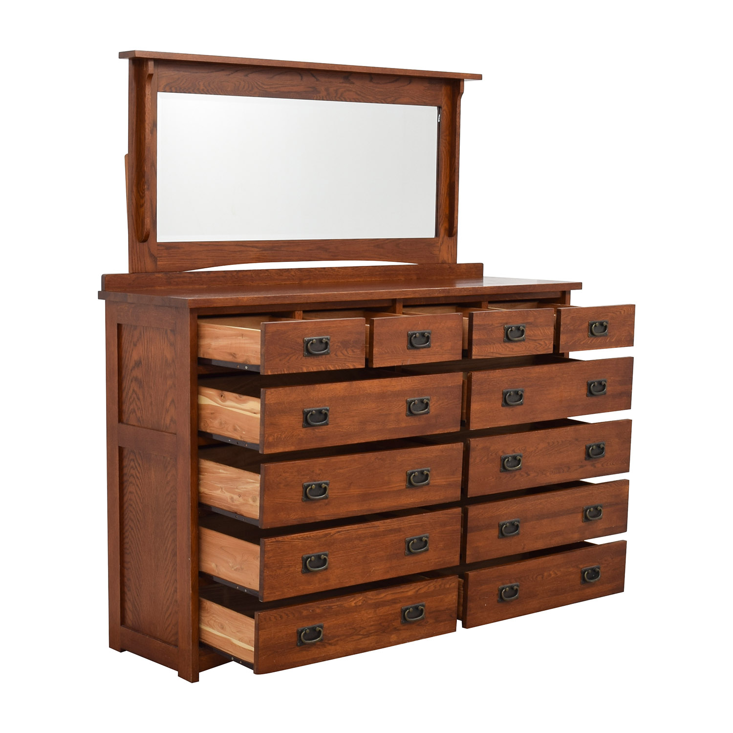 61 OFF  Mastercraft Collections Mastercraft Collections Prairie Mission 12drawer Dresser