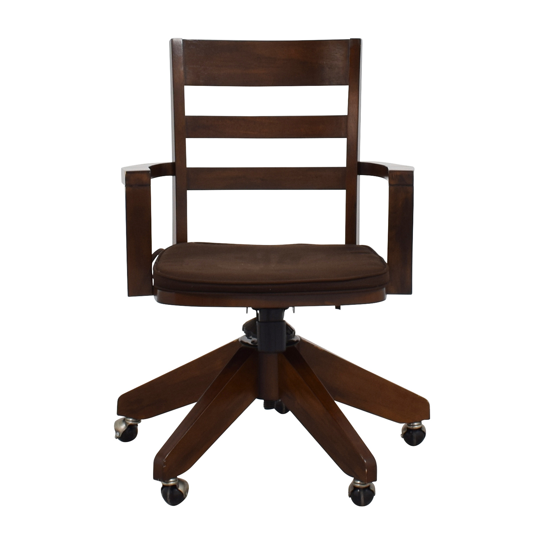 swivel chair pottery barn folding job lot tonon buy