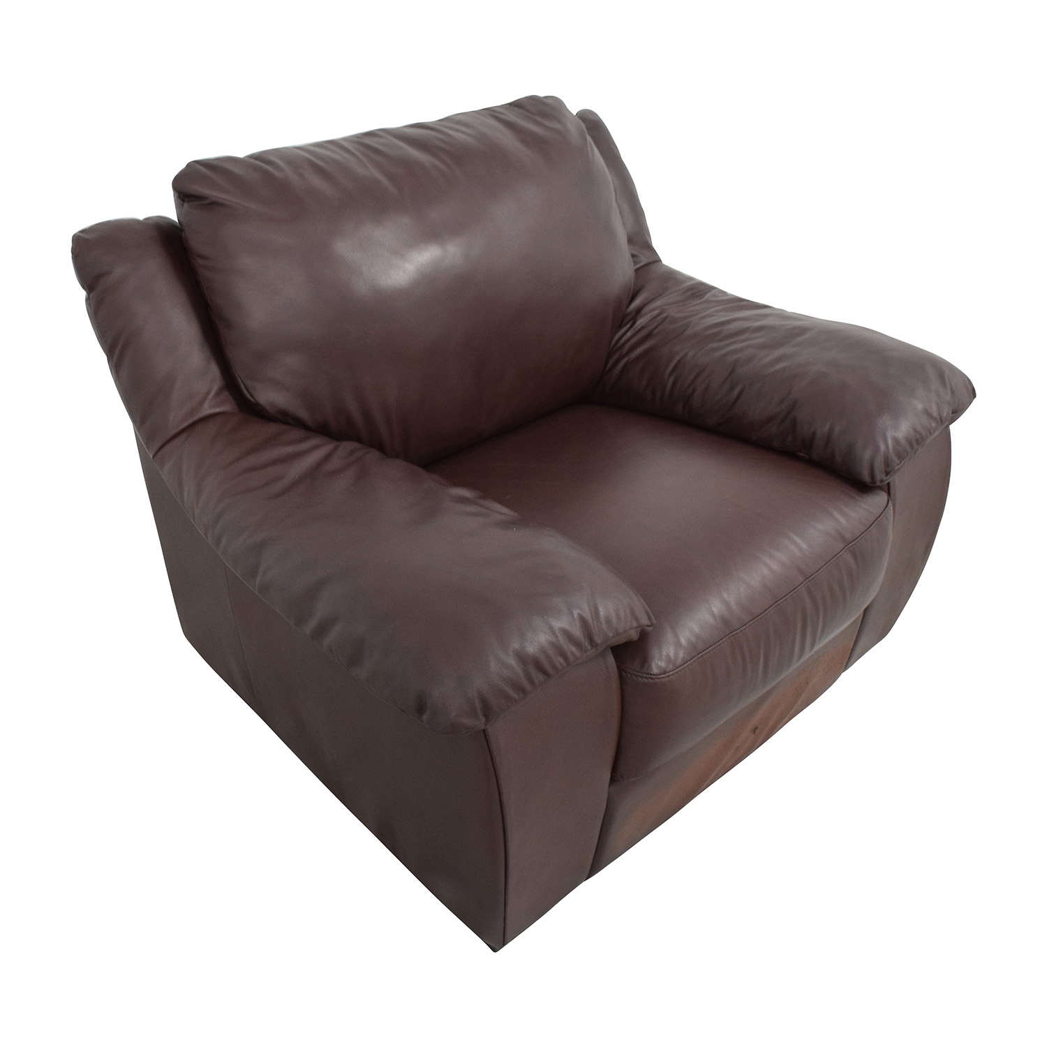 italsofa leather chair sofa com nyc 84 off brown plush armchair