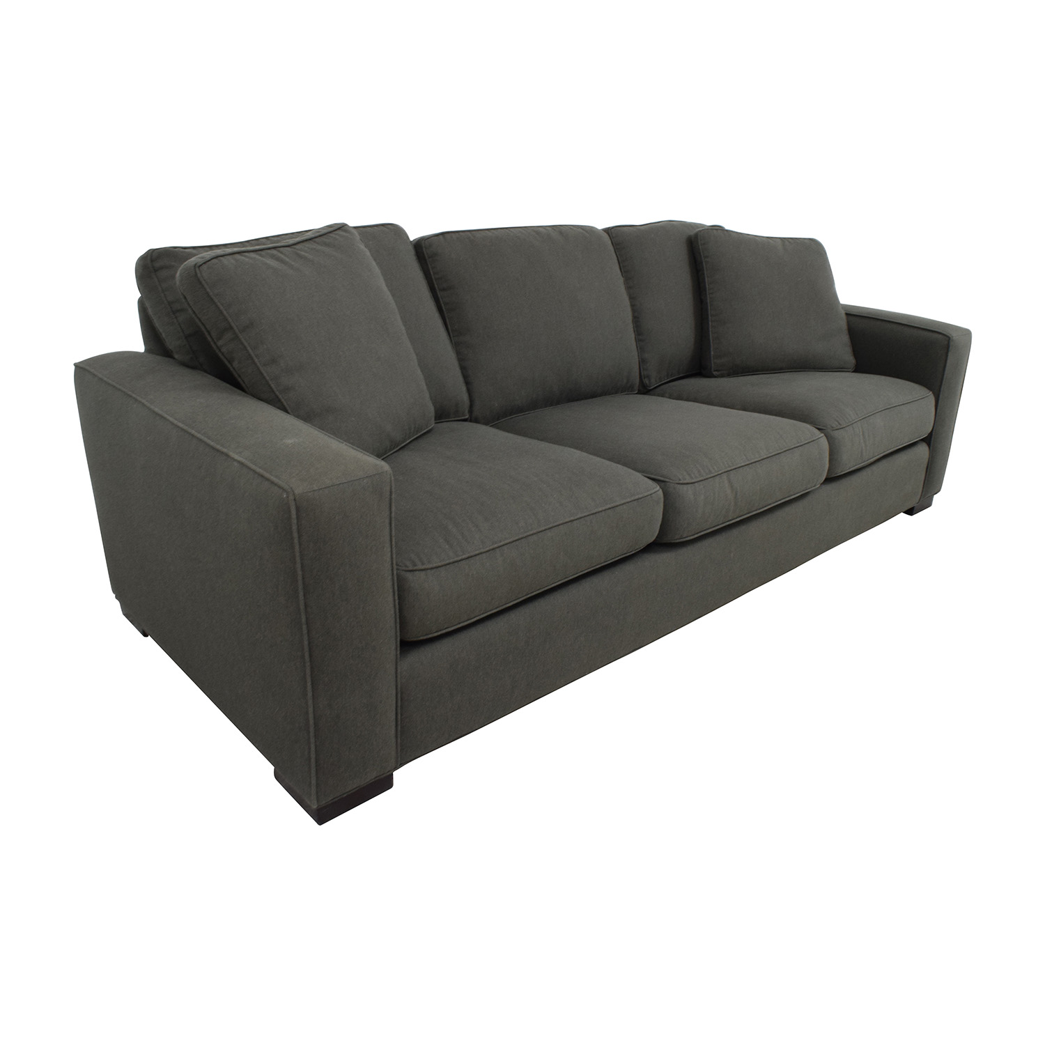 room and board metro sleeper sofa seat covers 49 off in charcoal