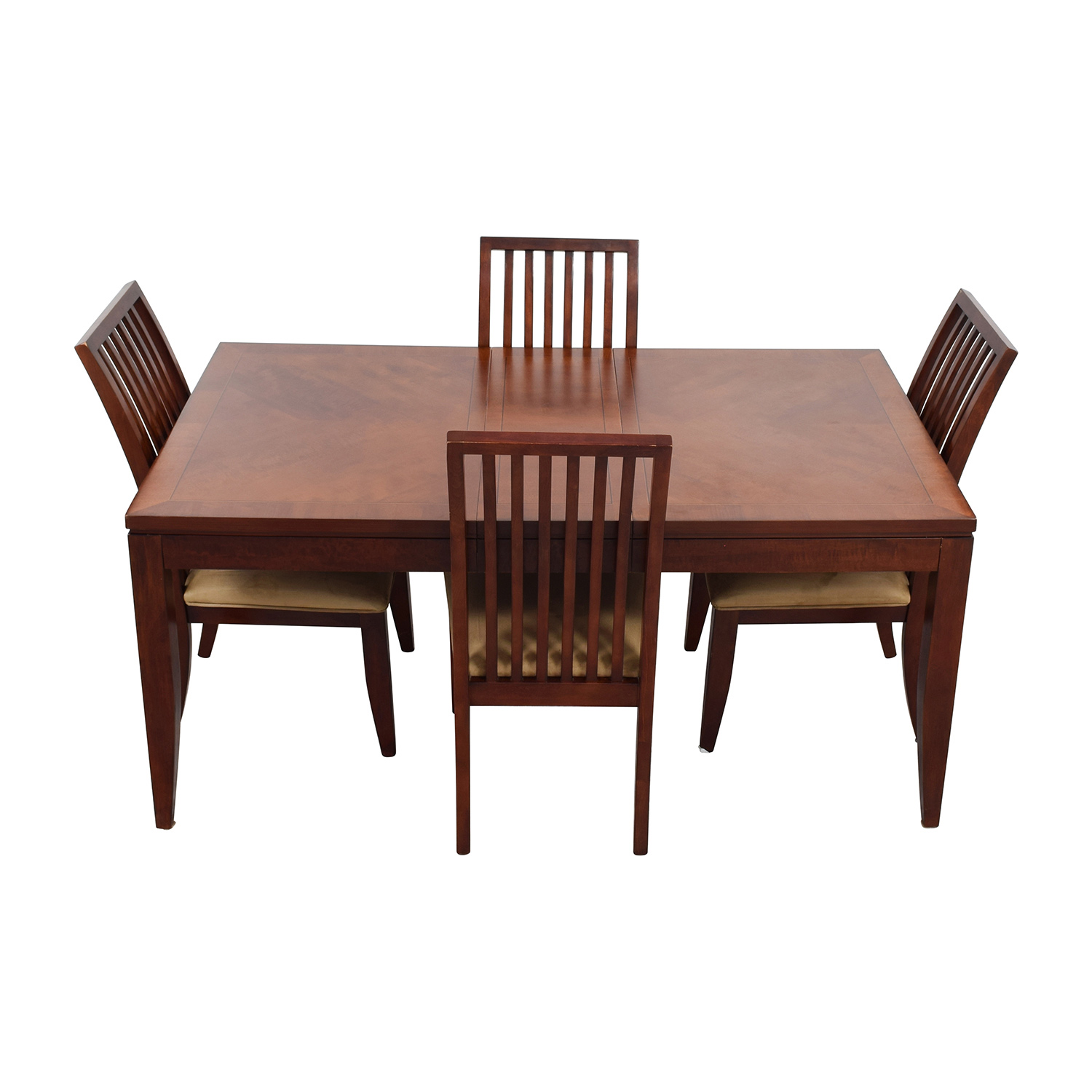 four chair dining set repair outside chairs 84 off macy 39s metropolitan with