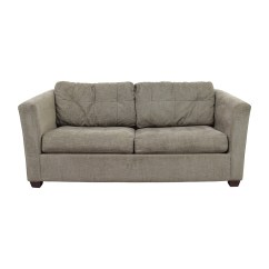 Grey Leather Queen Sleeper Sofa Lifestyle Solutions Bed Convertible Bauhaus Sofas 72 Off Microfiber Tan Oversized