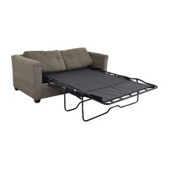 Grey Leather Queen Sleeper Sofa Parker Knoll Sofas Bauhaus Decorating Furniture Couch