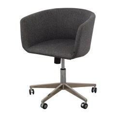 Sofa Chair With Wheels Come Bed Design Price In Stan 80 Off Modern Grey Office Chrome Chairs