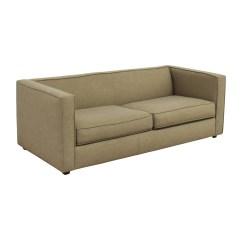 Cb2 Club Sofa Ottoman Cosmo Leather Corner Baci Living Room