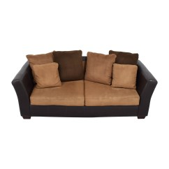 Brown Accent Pillows Sofa Simmons Bed Mattress Replacement Ashley Furniture Alenya Home