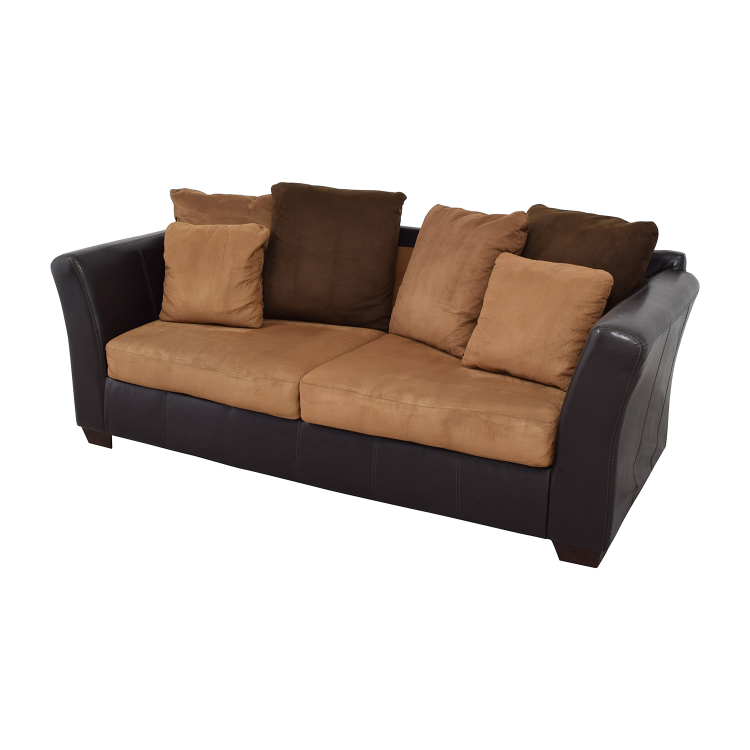 accent sofa pillows reclining for sale kijiji 43 off ashley furniture with