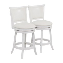 High Bar Stool Chairs Lounge Chair For Living Room 90 Off Corliving White Leatherette Swivel