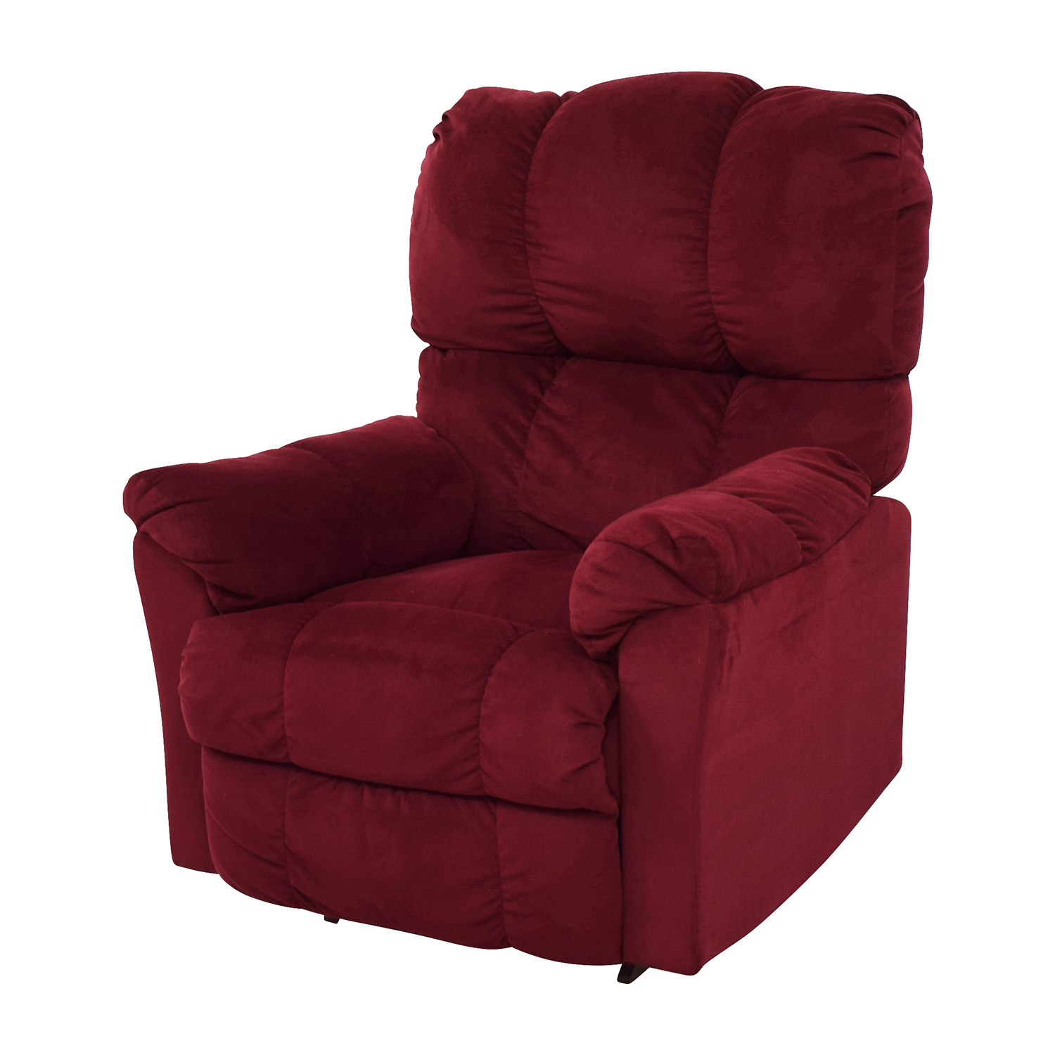 87 OFF  Macys Macys Red Recliner Arm Chair  Chairs