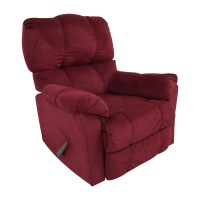 87% OFF - Macys Macy's Red Recliner Arm Chair / Chairs