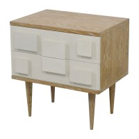 84% OFF - Bungalow 5 Bungalow 5 Ponti Two-Drawer Side ...