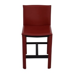 Room And Board Chair Scandinavian Kneeling 90 Off Sava Bar Stool In Red