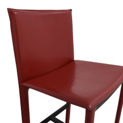 Room And Board Chair Design Plastic 90 Off Sava Bar Stool In Red