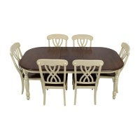50% OFF - Extendable Wood Dining Table with Chairs / Tables