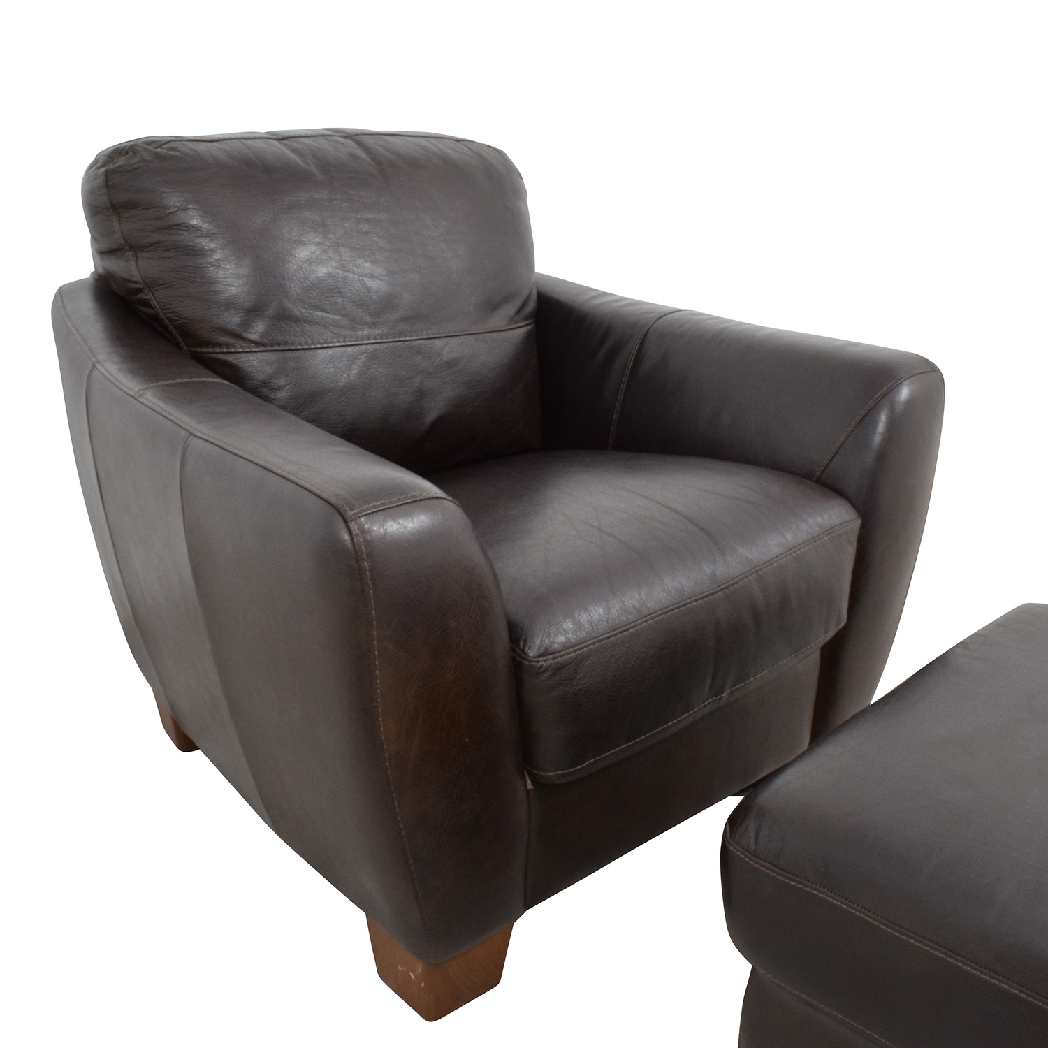 sofitalia leather sofa henredon sofas for sale 64 off dark brown armchair