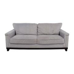 English Arm Sofa Restoration Hardware Leather Sleeper Modern 79 Off