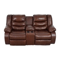 Ashley Furniture Leather Reclining Sofa And Loveseat