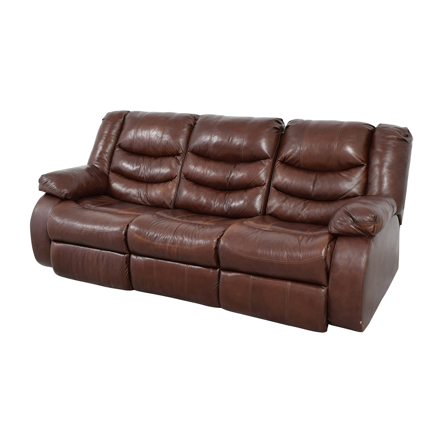 Ashley Furniture Leather Chair 81 Off Ashley 39s Furniture Ashley Furniture Large Brown